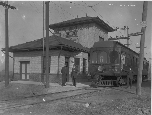 1910s ITS Business Car 233 at Emery